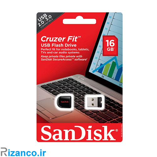 فلش مموری سن دیسک مدل fit cz33